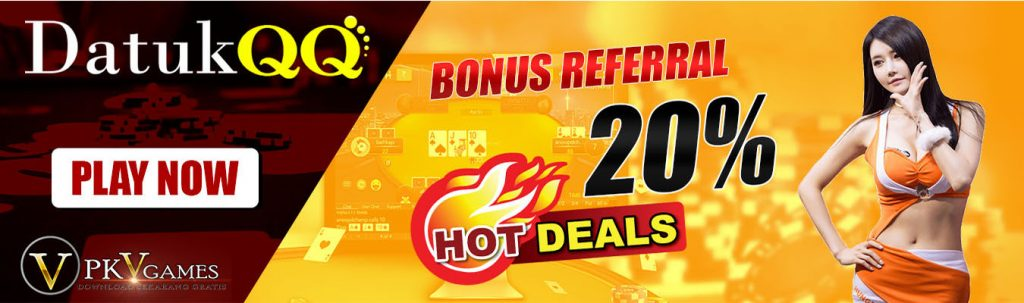 promo referral judi online