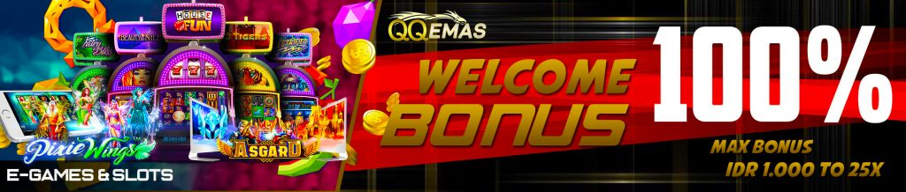bonus welcome judi online